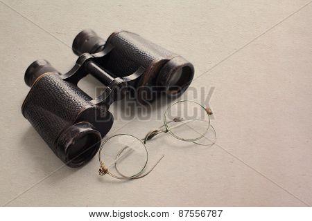 Binocular And Glasses