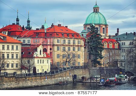 Prague, Czech Republic, Aerial View