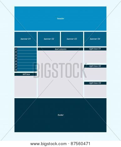 Website Business Layout