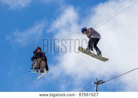 Kacper Gruszka, Polish snowboarder