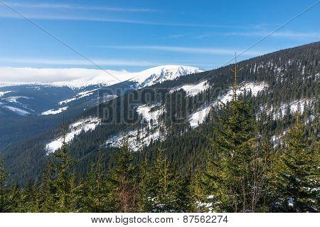 Go Up To The Mountain Snezka