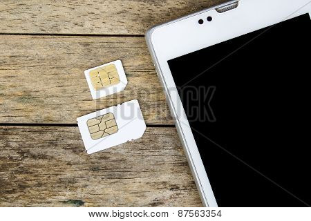 What's Type Of Sim Card Can Use On Your Mobile, Smart Phone, Black Screen