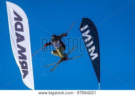 Mees van Lierop, Dutch skier