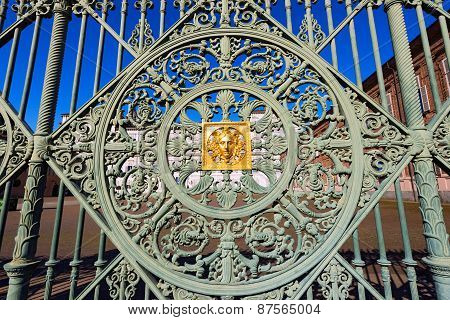 Gate Of The Royal Palace - Torino Italy