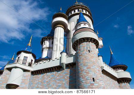 Fairy Tale Castle in Sazova Park