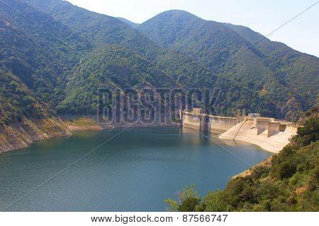 San Gabriel River Dam