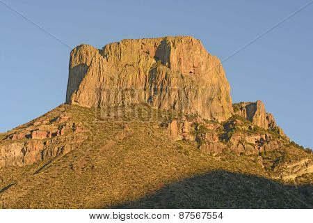 Dramatic Peak In Late Evening Sun