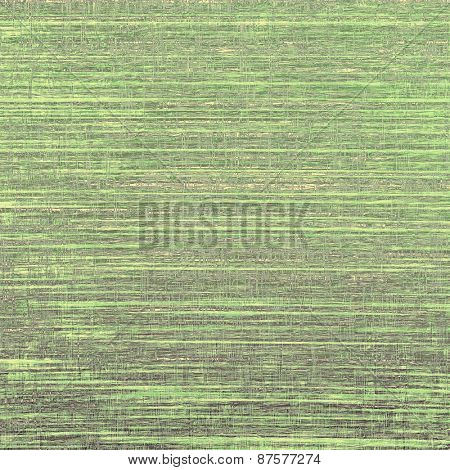 Old abstract grunge background, aged retro texture. With different color patterns: yellow (beige); brown; green