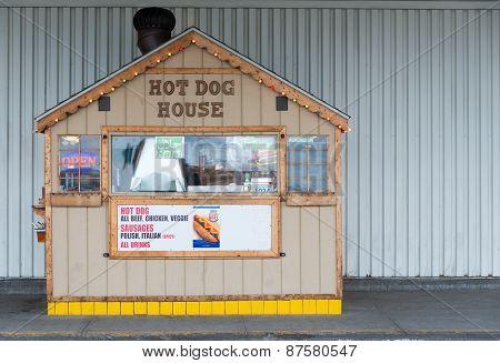 Small Hot Dog Stand, Neighborhood Business