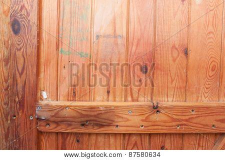 Texture Of Wooden Door