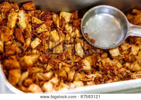 Cut Spicy Prepared Chicken