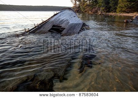 Lake Superior Shipwreck