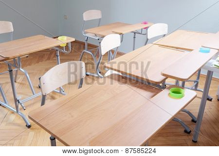 Kindergarten classroom Interior