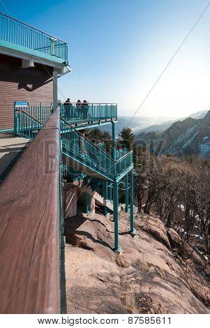 Viewpiont At Seoraksan National Park.