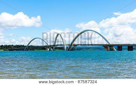 Bridge in Brasilia, Brazil