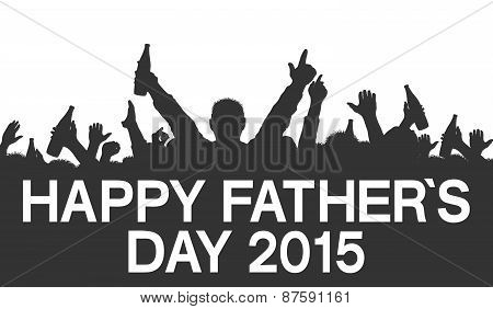 Silhouette - Happy Fathers Day 2015