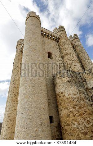 Castle At Valencia De Don Juan, Castilla Y Leon