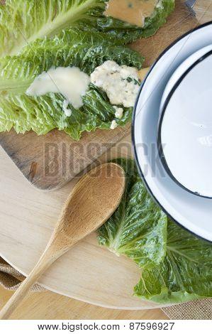 Fresh Veggie With Kitchen Utensil