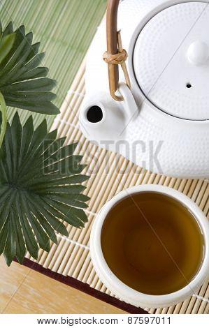 Hot Tea Background