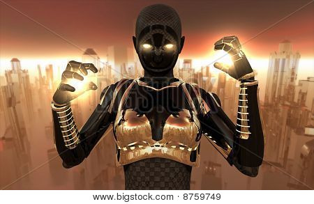 Cyborg warrior
