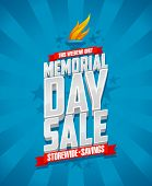 picture of memorial  - Banner for Memorial day sale - JPG