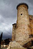 Castle In Spain, Medieval Building. poster