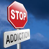 image of addict  - stop addiction of alcohol gaming internet computer drugs gamble addict get them to rehab or rehabilitation - JPG