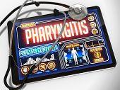 picture of mucosa  - Pharyngitis  - JPG