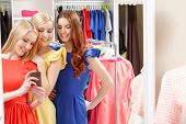 stock photo of boutique  - Happy shopping - JPG