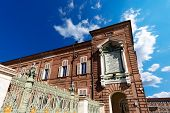 stock photo of turin  - Detail of the Royal Palace  - JPG