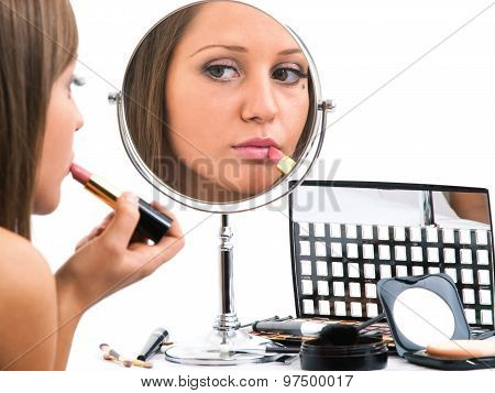 Applying Make-up