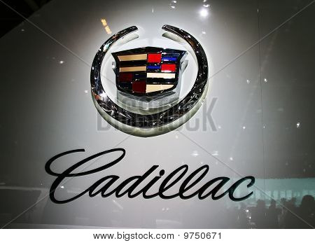 A General Motors Co. Cadillac Logotype