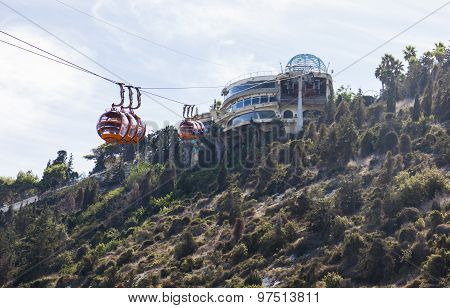 Mount Carmel Cable Car. Haifa. Israel