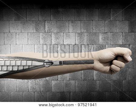 Keyboard Inside The Skin