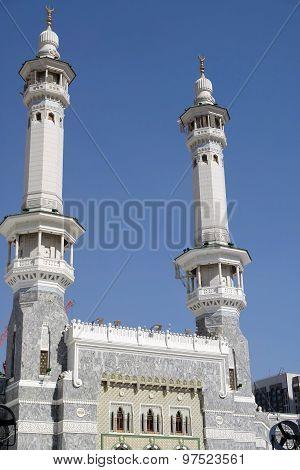 Kaaba Minaret In Mecca