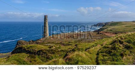 Tin Mines On The Cliff