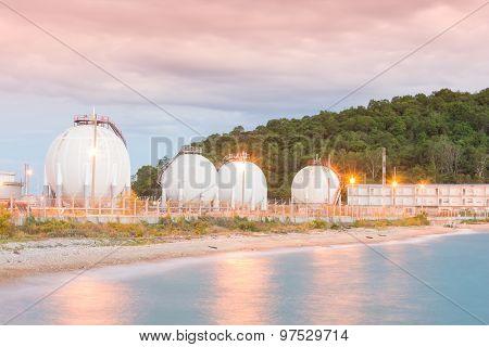 Lpg Gas Industrial Storage Sphere Tanks