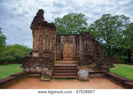 Ruins Of Polonnaruwa