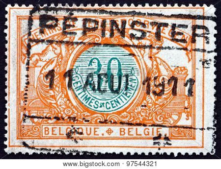 Postage Stamp Belgium 1902 Parcel Post Stamp