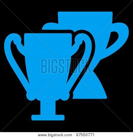 Trophy cups icon