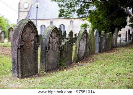 St Anne Church Cemetery In Ryde, Australia