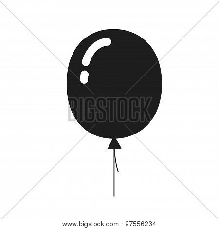 balloon icon, isolated.