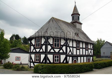 Timbered chapel