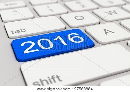 Keyboard - 2016 - Blue