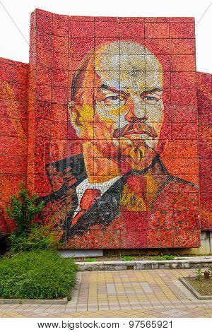 The Statue Of Lenin