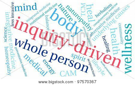 Inquiry-Driven Word Cloud