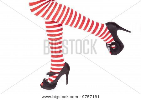 Santas Helper Legs One Up