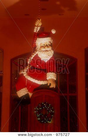 Santa Over Door