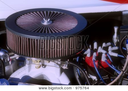 Air Cleaner Over Distributor Cap