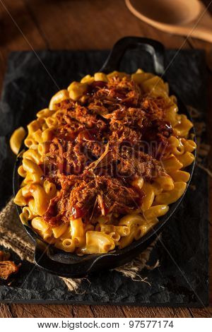 Homemade Bbq Pulled Pork Mac And Cheese